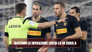 Serie A infrazioni covid-19